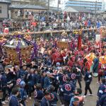 下総三山の7年祭り2015(11/1)@船橋の二宮神社。屋台出店は200以上!? 東京から60分、6年ぶりのビッグイベントを見逃すな!