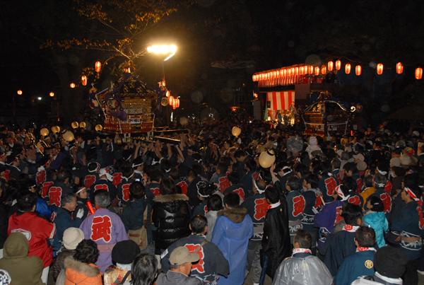 二宮神社への昇殿