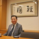 船橋出身の野田元総理、宇宙のお話、聞かせてください!!