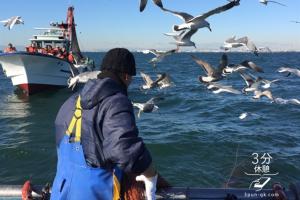 ど迫力の漁を間近で体感!!~船橋漁協スズキ漁&ホンビノス貝漁の漁業体験ツアー~