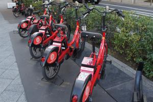 東京の自転車シェアリングが超絶便利~千代田区、港区、中央区、江東区で実施中~