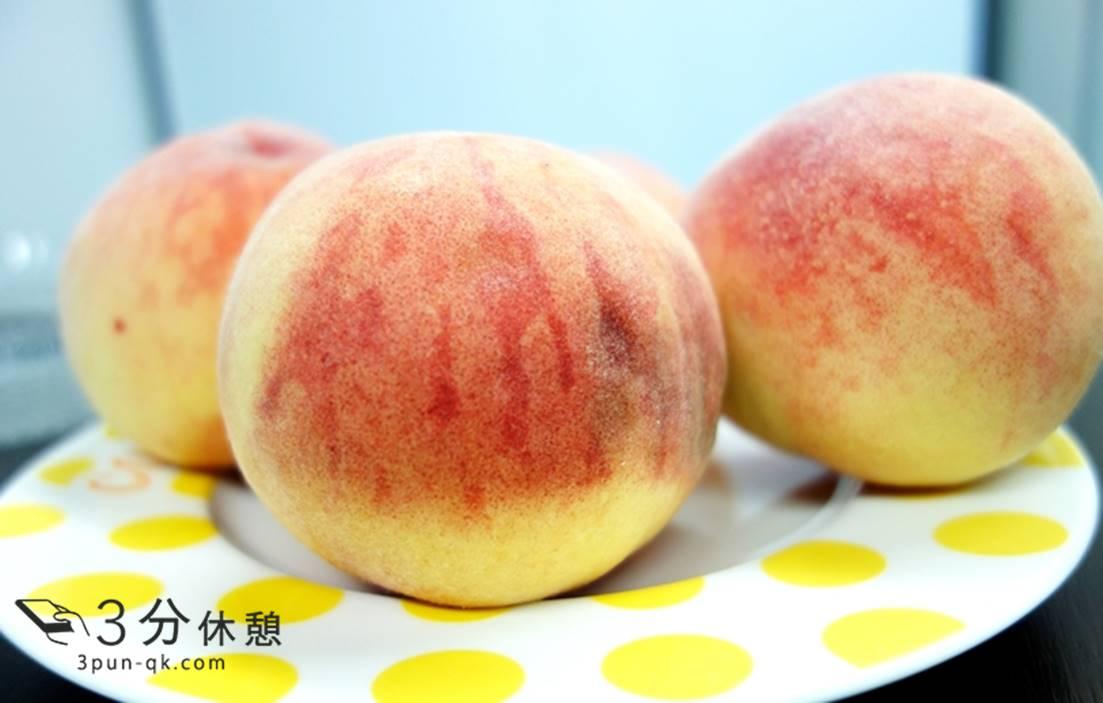 桃の切り方、剥き方
