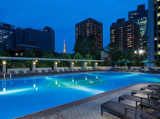 ナイトプール ANAインターコンチネンタルホテル東京