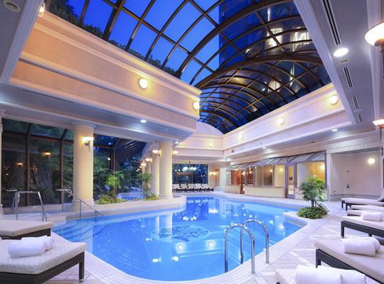 ナイトプール ホテル椿山荘東京