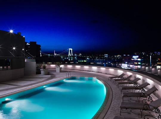 ナイトプール グランドニッコー東京 台場